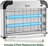 Tiabo Electronic Bug Zapper Indoor Insect Killer - 20W Mosquito, Fly, Moth, Gnat