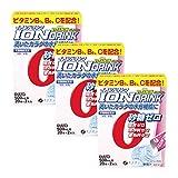 ファイン イオンドリンク ビタミンプラス 砂糖不使用 国内生産 カロリーゼロ ライチ味 22包入×3個セット