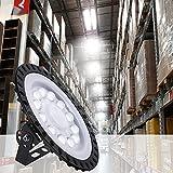 Blivrig Naves Industriales,50W Campana LED Industrial,IP65 Focos Led Interior 6500K Industrial LED Iluminación Comercial para Fábricas,Aeropuerto,Restaurante[Clase de eficiencia energética A+]