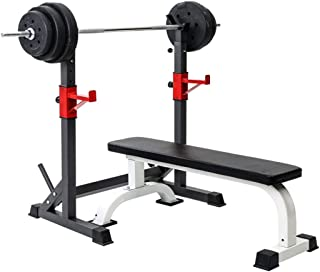 Multi-Function Barbell Rack Dip Stand,Height Adjustable Barbell Stand Weight Lifting Rack, Squat Stand Dipping Station Wei...