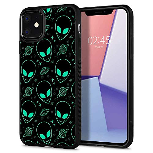 suowenchina iPhone 11 case Alien Full Body Case Cover Screen Protector Heavy Duty Protection case Shockproof case for iPhone 11