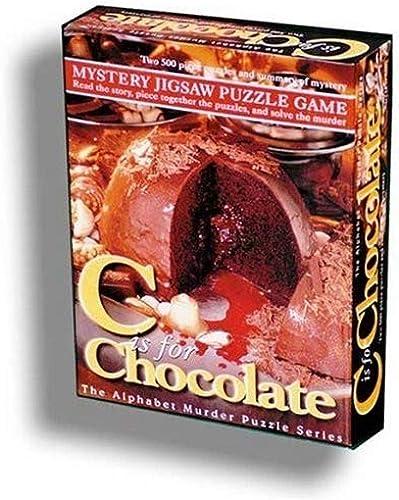 clásico atemporal Alphabet Mystery Jigsaw Puzzle - C Is for for for Chocolate  en promociones de estadios