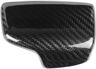 Gear Shift Knob Frame, Carbon Fiber Car Gear Shift Knob Head Cover Trim for A4 S4 RS4 B9 A5 S5 RS5 Q5 Q7
