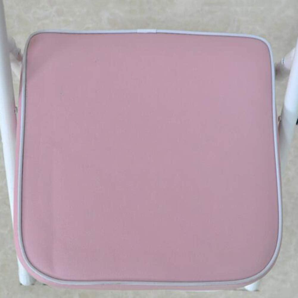 GLJJQMY Tabouret de Chaise Pliant 2 X Siege intérieur Exterieur Ecole Maternelle Chambre d'enfant 5 Couleur 33x28x53cm Chaise empilable (Color : Pink) Pink
