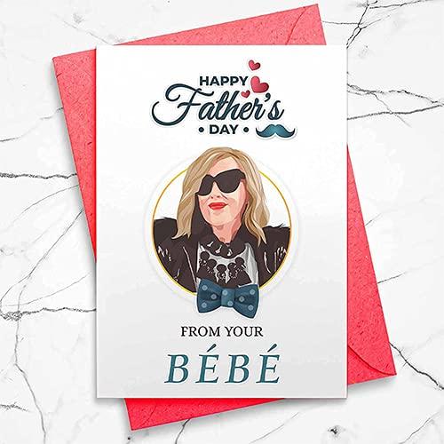 Kansas City Mall Moira Rose Dedication Inspired Father's Day Bebe Parody Card -
