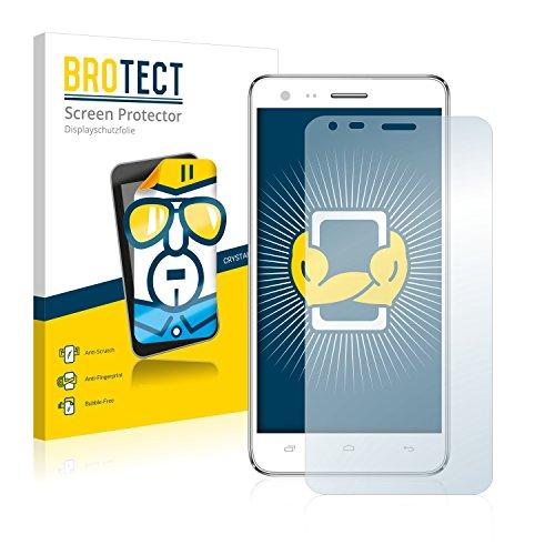 BROTECT Schutzfolie kompatibel mit Kazam Trooper 2 (5.0) (2 Stück) klare Bildschirmschutz-Folie