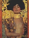 Gustav Klimt Agenda Mensile 2020: Giuditta I | Inizia Ora e Dura Fino Dicembre 2020 | Jugendstil Art Nouveau | Arte d'Oro | Pianificatore Settimanale 2020 (12 Mesi)