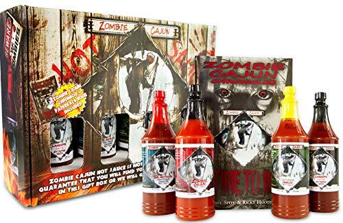 Zombie Cajun Hot Sauce Gift Sets