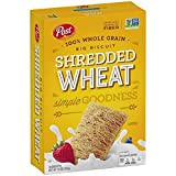 Shredded Wheat Big Biscuit Whole Grain Cereal, 15 Oz (Pack of 2)
