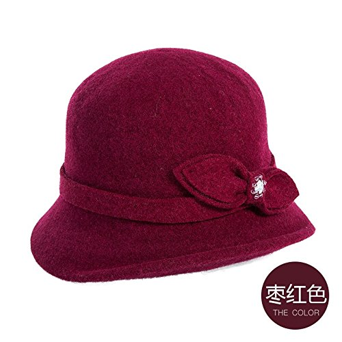 LLZTYM hoed/vrouw/baret/hoed/diamant/diner/cadeaupet