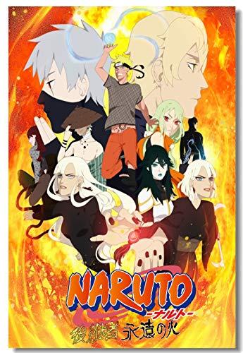 Puzzle 1000 Piezas Pintura Art Deco de Naruto Uchiha Puzzle 1000 Piezas Animales Juego de Habilidad para Toda la Familia, Colorido Juego de ubicación.50x75cm(20x30inch)