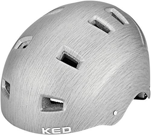 KED Risco Helm Grey/Metall Matte Kopfumfang L   57-62cm 2020 Fahrradhelm