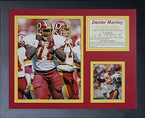 "Legends Never Die ""Dexter Manley Framed Photo Collage, 11 x 14-Inch"
