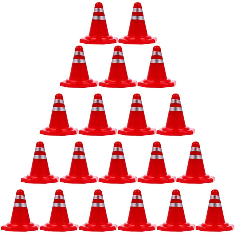 Toddmomy Wholesale 50pcs Miniature Traffic Safety with Co Cheap SALE Start Reflective Cones