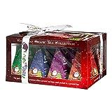 English Tea Shop - Teegeschenk mit Schleife 'Red Santa Christmas', BIO, 12 Pyramiden-Beutel