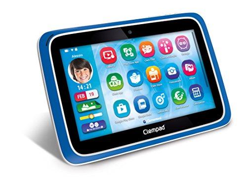 Clementoni Clempad XL 6.0 Plus 16 GB Azul - Tablets Infantiles (1 GB, 16 GB, MicroSD (TransFlash), 22,9 cm (9