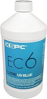 XSPC EC6 High Performance Premix Coolant, Translucent, 1000 mL, Blue UV