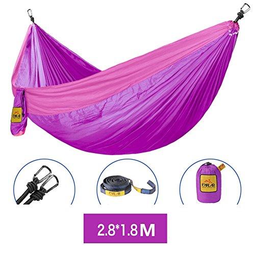 DIAOHXY Très léger Portable Hamac,Swing Parachute hamac Camping hamac-A