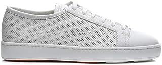 d0ea81340b0b SANTONI Scarpe Sneaker Uomo Bianco Primavera Estate Art MBCN20440 G-I50 P19