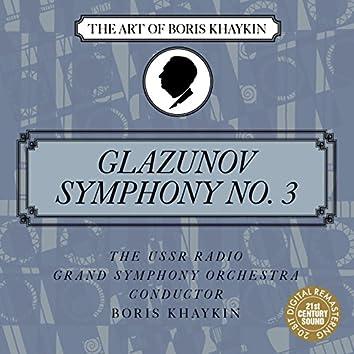 Glazunov: Symphony No. 3 in D Major, Op. 33