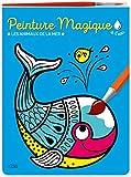 Peinture magique à l'eau - Les animaux de la mer. Avec un pinceau - Dès 3 ans