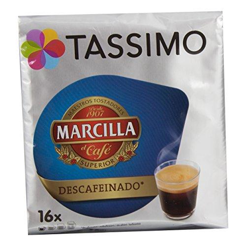 Café Descafeinado Marcilla Tassimo 16 Cápsulas