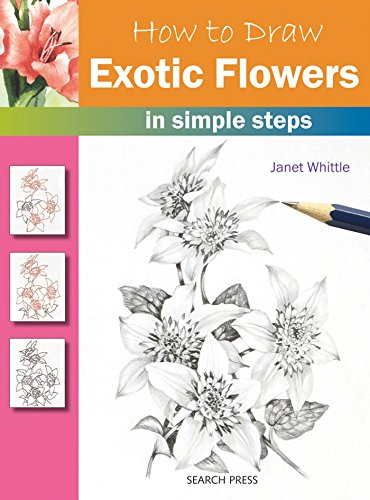How to Draw Exotic Flowers in Simple Steps