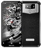 Unlocked Smartphone,OUKITEL 10000mAh 6.3 Inch Screen 64GB 4G K12 Android Cell Phones, 6+64GB ROM Dual SIM, 16MP+8MP Camera Mobile Phone NFC Face ID+Fingerprint