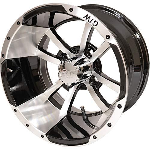 JEGS Golf RIM12-MB-41 12x7 JEGS Legend Wheel
