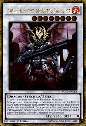 Yu-Gi-Oh! - Ignister Prominence, the Blasting Dracoslayer (PGL3-EN062) - Premium Gold: Infinite Gold - 1st Edition - Gold Rare
