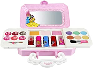 23PCS Makeup Toys Real Makeup Palette Safe & Non-Toxic for Girls Washable Cosmetic Play Kit Princess Make up Set with Mirror