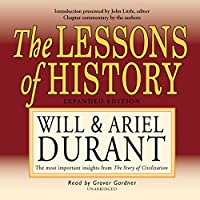 The Lessons of History (Will Durant Audio Library)