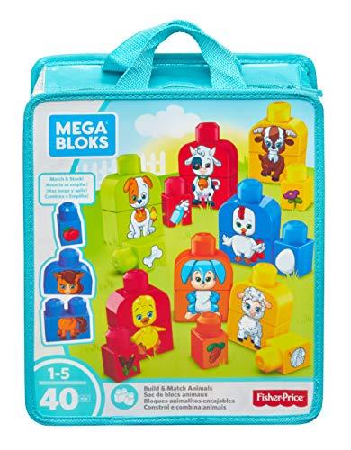 Mega Bloks Bloques animalitos encajables