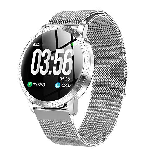 Xiao Long Multifunktions-Farbdisplay Smart-Armband Blutdruck Herzfrequenz Schlaf-Überwachung Sportuhr Männer und Frauen Bluetooth-Uhr Wasserdicht Running Pedometer Runden Bildschirm Smart-Armband Smar