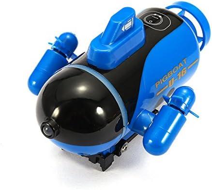 Intelligent de Simulation de Bat Micro-Radio T/éL/éCommande RC Navire sous-Marin /électrique Moteur Submersible 6CH Nucl/éaire Sous-Marin Eau Jouet /Électrique Simulation Mod/èle Jouet Pour Pour Enfants