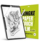 Ringke Paper Touch Film Hard Compatible con Protector Pantalla iPad Pro 12.9 Pulgadas (3/4/5 Generacion), Película de Papel Duro Mate, Protector de Pantalla para la Escritura, Dibujar - 2 Pack