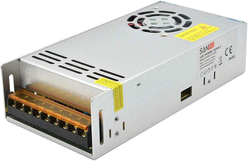 JMWaaBong SMPS 24V 500W DC LED Fuente de alimentación conmutada 20A Voltaje constante Salida única 220V 230V AC/DC Transformador Driver Interior