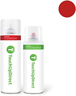 TouchUpDirect for Toyota Exact Match Automotive Touch Up Paint - Impulse Red Metallic (3P1)