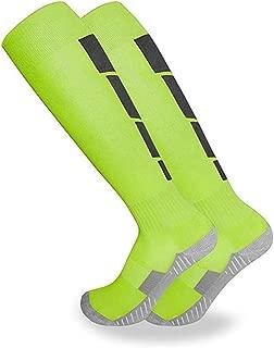 Athletic Socks, Over The Calf Men Socks for Running, Soccer, Basketball