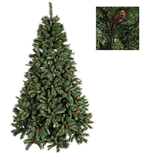 Árbol De Navidad Con Piñas 150 Cm