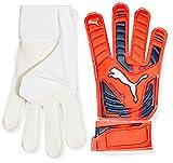 PUMA Evopower Grip 4 - Guantes de Portero para fútbol, Color Naranja, Talla 9