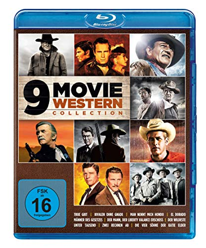 9 Movie Western Collection - Vol. 1 [Blu-ray]