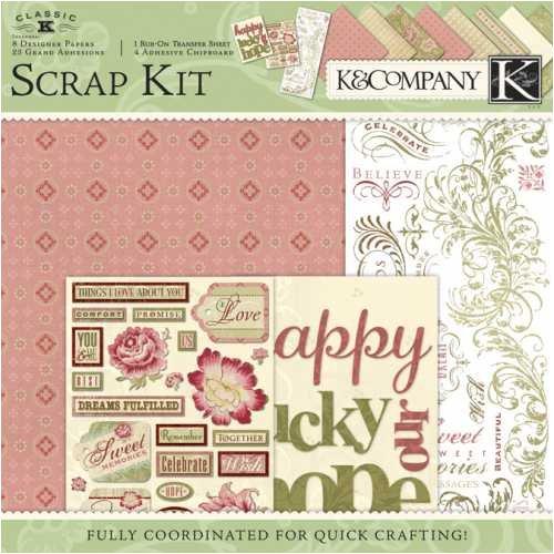 K&Company McKenna Scrap Kit 30,5 x 30,5 cm Layouts