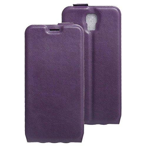 Litao-Case CN Hülle für UMI Rome X hülle Flip Leder + TPU Silikon Fixierh Schutzhülle Case 4