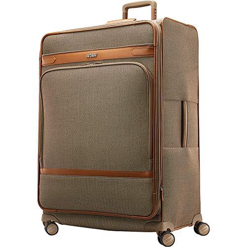 Hartmann Herringbone Deluxe Extended Journey Expandable Spinner, Terracotta, Checked-Large 29-Inch