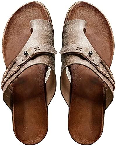 Zapatillas de estar por casa para mujer, estilo retro, con plataforma, abiertas, 1, 40 EU