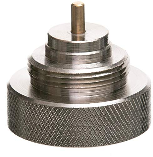 Eurotronic 700113 Meges Metalladapter für elektronische Heizkörperthermostate, Metall