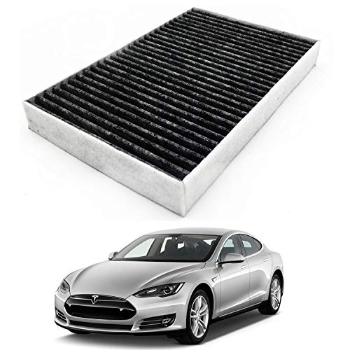 JOJOMARK for Tesla Model S Cabin Air Filter with Activated Carbon Fit 2012-2015 Model S
