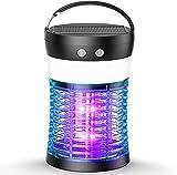 Zenoplige Zanzariera Elettrica USB Ricaricabile, 4W Impermeabile UV Lampada antizanzare, Trappola Zanzare con...