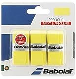 Babolat Pro Tour 3er gelb Overgrip, One Size